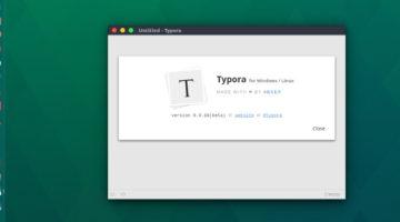 Install Typora Markdown Editor On Ubuntu 16.04 Linux