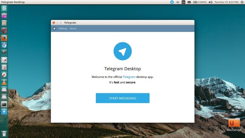 Install Telegram Messaging App On Linux Ubuntu