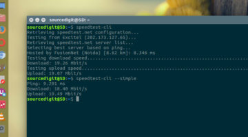 How To Check Internet Speed In Ubuntu Using Command-Line
