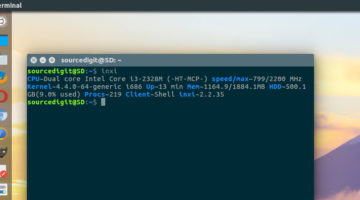 Use Inxi To Get Ubuntu System Information Via Command Line