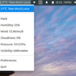 Install Simple Weather Indicator On Ubuntu 16.10