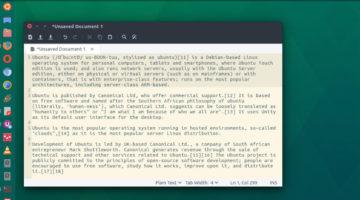 Install XED XML text Editor On Ubuntu Linux