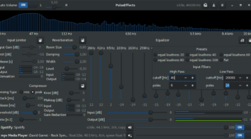 Pulseaudio Equalizer App PulseEffects For Linux Ubuntu