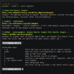 Googler – Search Google From Linux Terminal