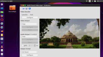 Avidemux 2.7.0 Released – Install Avidemux Video Editor On Linux Ubuntu