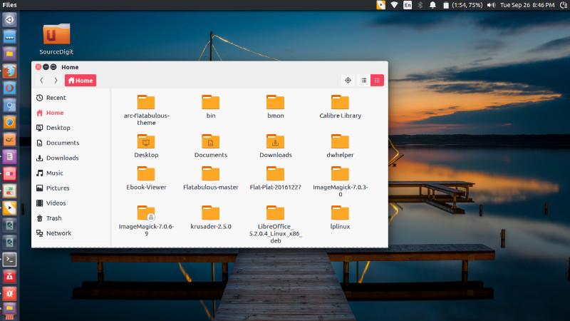 Install Ant GTK Theme on Ubuntu Linux