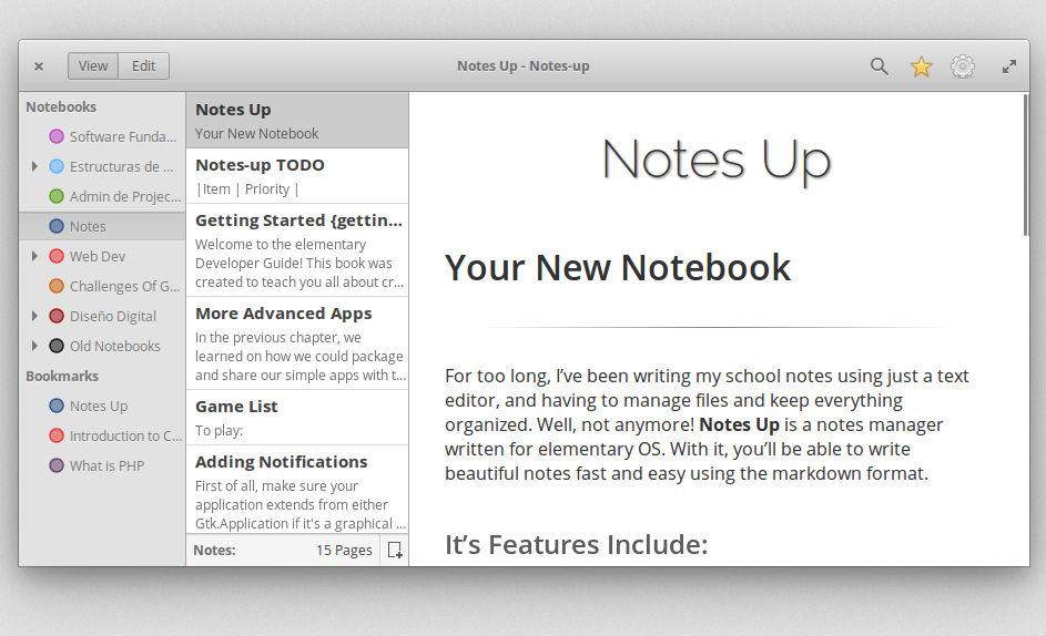 Install Notes Up Markdown Editor on Linux Ubuntu