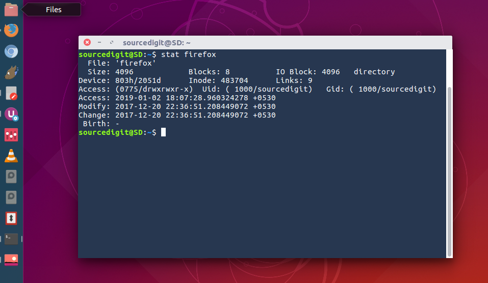 Stat Command In Linux With Examples
