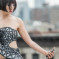 A Smartphone-Powered Dress That Becomes Transparent When You Tweet