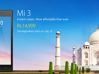 Xiaomi India Smartphone Launch: Xiaomi Mi3 at Rs 14999 in India