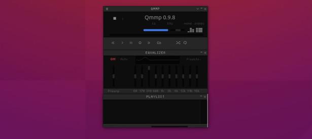 Install Qmmp 1.1.0 Winamp-Like Music Player on Ubuntu